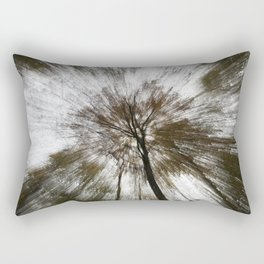 Tree Rays Rectangular Pillow