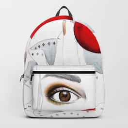 clown face Backpack