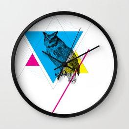 HYPSTER OWL Wall Clock