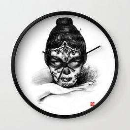 DEPARTURE LOUNGE no 4 Wall Clock