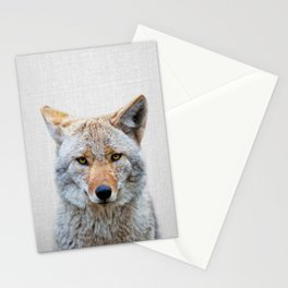 Coyote - Colorful Stationery Cards