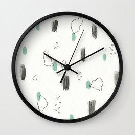 Amoeba Orgy Wall Clock