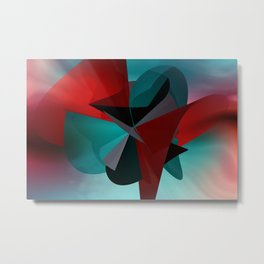 3 colors for a polynomial - landscape format Metal Print