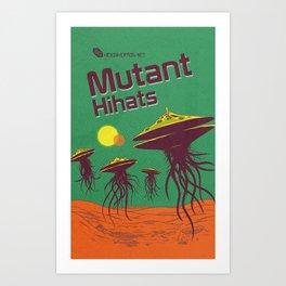 Hexinverter.net – Mutant Hihats Art Print