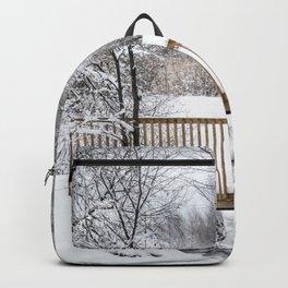 Winter Footbridge Backpack