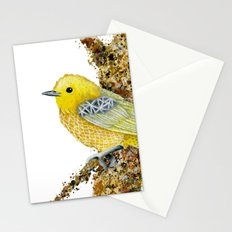 Yellow Warbler Tilly Stationery Cards