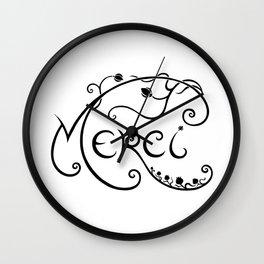 Merci Wall Clock