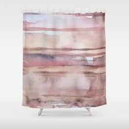 Elusive Strata Shower Curtain