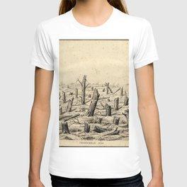 Vintage First World War Art - JM's Sketchbook - Inverness Kop T-shirt