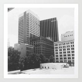 City Skies Art Print