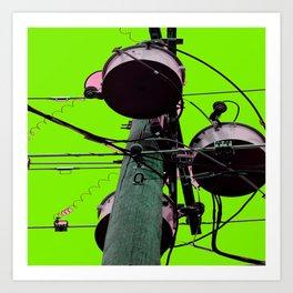 Industrial Electric Musings Art Print