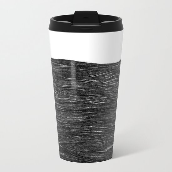 water at night Metal Travel Mug