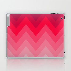 PINK OMBRÉ CHEVRON Laptop & iPad Skin