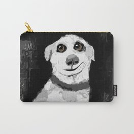 Man's Best Friend Pup Art Carry-All Pouch