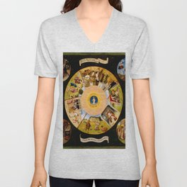 The Seven Deadly Sins and The Four Last Things Unisex V-Neck