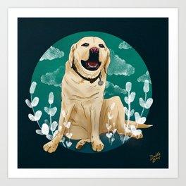 CHIEF DOG Art Print