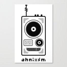 Ahnix FM Canvas Print