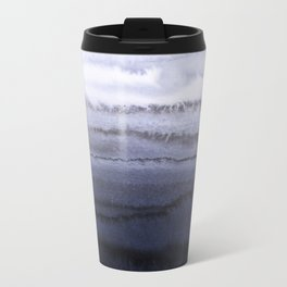 WITHIN THE TIDES BLUE Metal Travel Mug