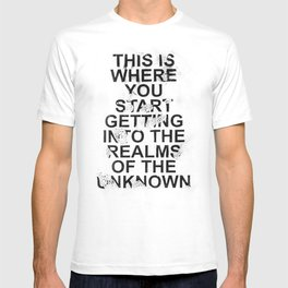 the realms of the unknown #2 T-shirt