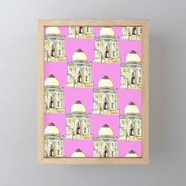 Tomb Framed Mini Art Print