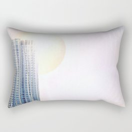 New York by Gehry Illustration Rectangular Pillow