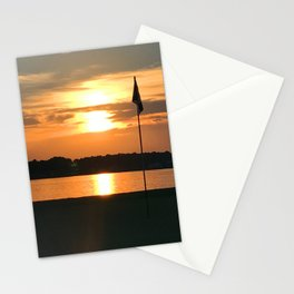 Bathe The Flag Stationery Cards