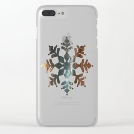 Winter Storm Warning Clear iPhone Case