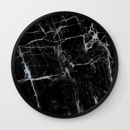 Black Marble Edition 1 Wall Clock