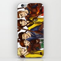 quidditch iPhone & iPod Skins featuring Quidditch by Plebnut