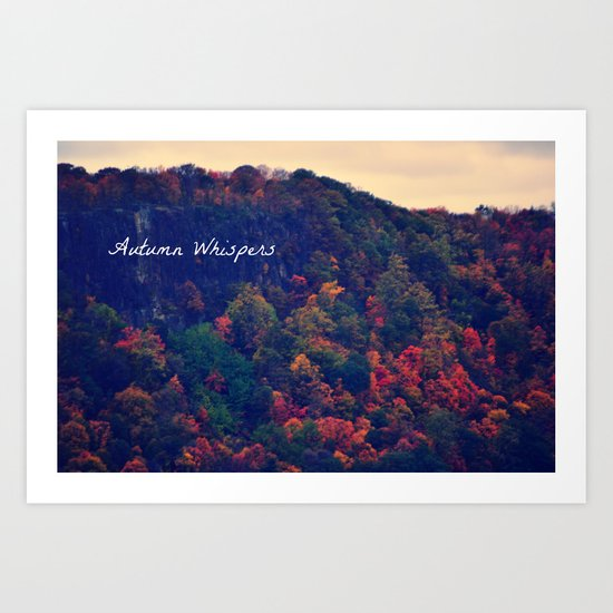Autumn Whispers Art Print