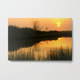 Sunset at the Bay (3) Metal Print