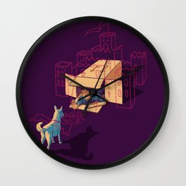 Halt! Who Goes There? Wall Clock