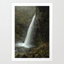 Upper Latourell Falls, No. 2 Art Print