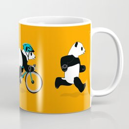 Panda Triathlon Coffee Mug