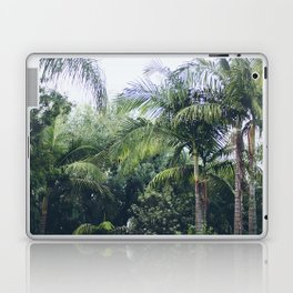 Palm Trees in a Tropical Garden Laptop & iPad Skin