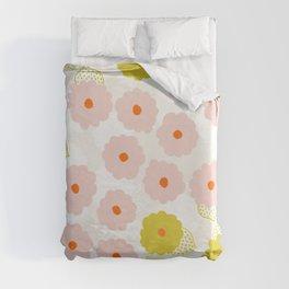 Olivia, flower child Duvet Cover