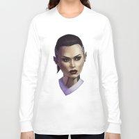 mass effect Long Sleeve T-shirts featuring Mass Effect: Jack by Ruthie Hammerschlag