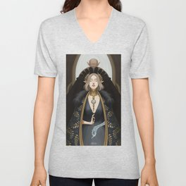 The lovers at the crossroads Unisex V-Neck