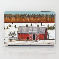john snow iPad Cases featuring First Snow by John Wisker