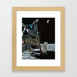 Small step Framed Art Print