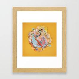 DRAINAGE  (07.17.16) Framed Art Print