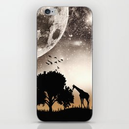 Nature silhouettes iPhone Skin
