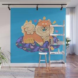 Fluffy Company Wall Mural