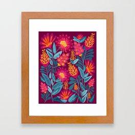 Fiesta Garden Framed Art Print