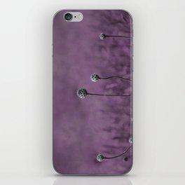 Nature purple garden iPhone Skin