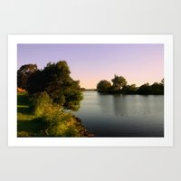 twilight Art Prints featuring Twilight  by Chris' Landscape Images & Designs