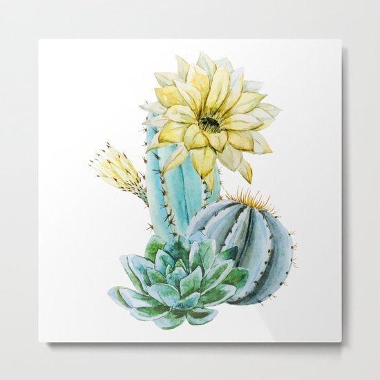Cactus 02 Metal Print