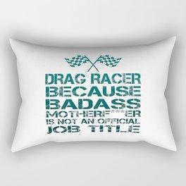 Drag Racer Rectangular Pillow