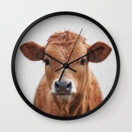Cow 2 - Colorful Wall Clock