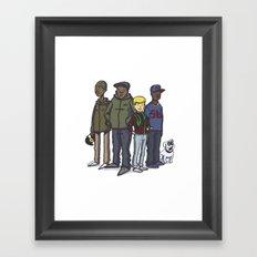 A Tribe Called Jonny Quest Framed Art Print